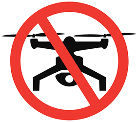 INFOGRAPHIC: NO DRONE ZONE